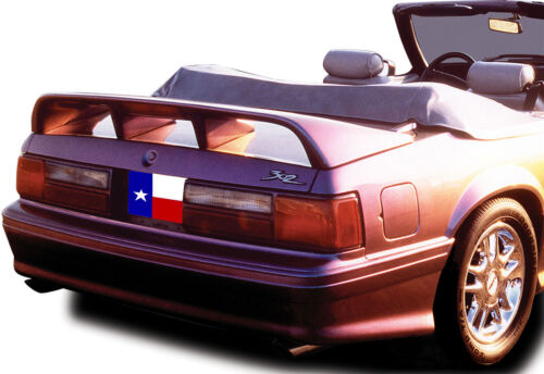"1979-1993 Painted Ford Mustang Coupe//Convertible /""Cobra Style/"" 4Post Spoiler"
