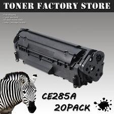 20PK CE285A 85A Toner Cartridge For HP P1102 P1102w M1130 M1132 M1134 M1136