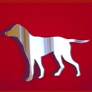 Shatterproof Acrylic Mirrors, Several Sizes Japanese Akita Dog Shaped Mirrors