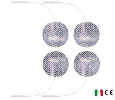 ^ry 30 Elettrodi adesivi cerotti rotondi elettrostimolatore viso seno ecg emg