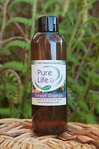 SWEET-ORANGE-essential-oil-Certified-100-Pure-amp-Natural-100ml