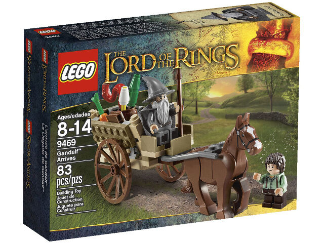 Lego The Lord of the Rings 9469 GANDALF ARRIVES Bilbo Horse Minifigure NISB