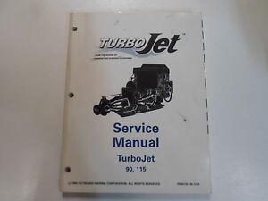 1995 johnson evinrude turbo jet 90 115 service repair shop manual rh ebay com OMC Turbojet Engine omc 115 turbojet service manual download