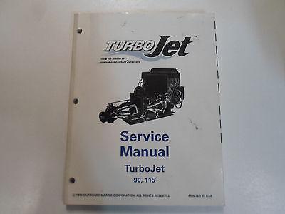 1995 Johnson Evinrude Turbo Jet 90 115 Service Repair Shop Manual FACTORY x  OEM | eBay | Turbo Jet 115 Wiring Diagram |  | eBay