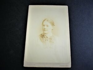 Vintage-1890-s-Attractive-Woman-Cabinet-Photo-by-W-E-Stein-Cleveland-Ohio