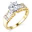 2-75-Ct-Round-Cut-Engagement-Wedding-Ring-Set-Real-14K-Yellow-Gold-Matching-Band thumbnail 2