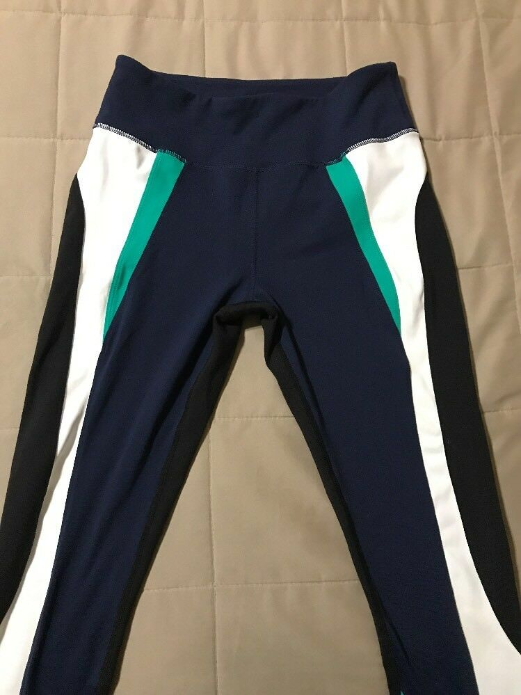 ca64e826cab ... NEW Splits59 Force Force Force Ankle Tights - Navy White Multi-color -  Medium 0bb5f7 ...