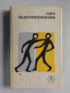 Judo-Selbstverteidigung Lehrbuch Kampfsport Horst Wolf DDR Fachbuch 1974