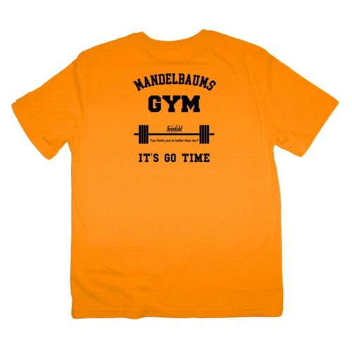 Seinfeld Mandelbaum Gym Strong Man Fathers Day Dad Shirt S-XXXL Many Colours