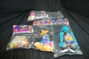 4 Space Jam Plush Toys Daffy Duck Blanko Nerdlucks Lola Bunny -A16