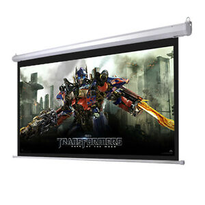 92-16-9-Motorized-Electric-Projector-Projection-Screen-80x45-Remote-Control