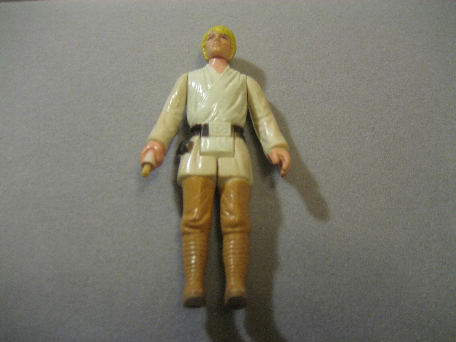 Vintage - star - wars - 1977 luke skywalker 3,75  taiwan figur mit hh buchstabiert griff