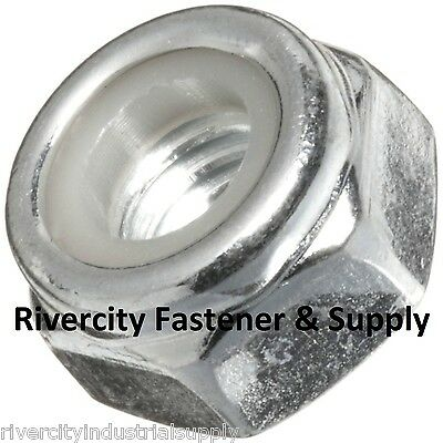 2 Thin Half Nuts Stainless Steel 7//16x20 Nut 7//16 x 20 7//16-20 Hex Jam