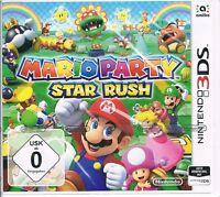 Nintendo 3ds Spiel Mario Party : Star Rush Neu