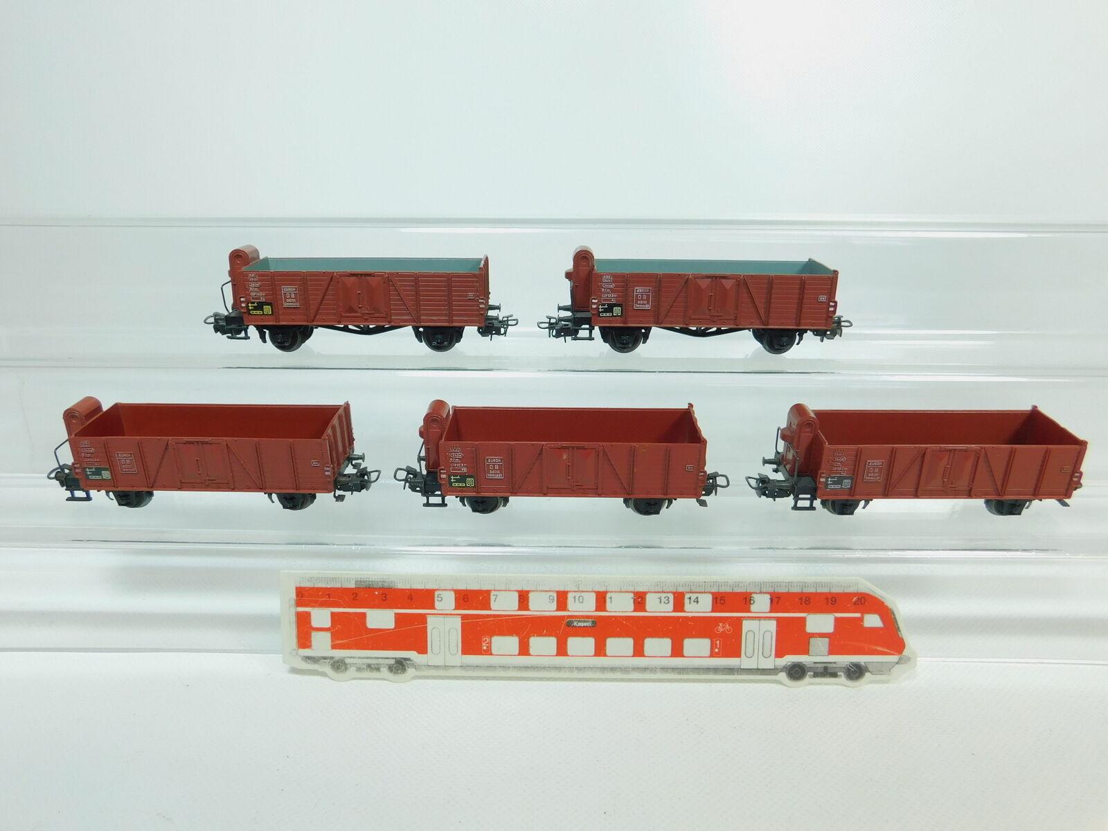BP714-1x Märklin H0 AC 4601 (311 1) Güterwagen Hochbordwagen DB, 2. Wahl