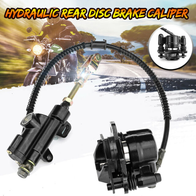 Hydraulic Rear Disc Brake Caliper System 110cc 125cc Pit Dirt Bike Quad ATV