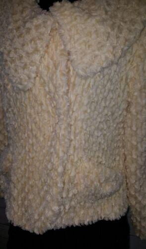 viscosa M in Essence Ivory Giacca scamosciata Sher Young ciniglia 2759 Button Cream XAvUxwYq