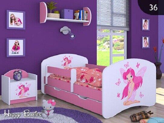 Lit enfant chambre enfant sommier à lattes avec tiroir 140x70 160x80 180x90 190x90