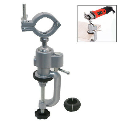 Table Vise 360 Degree Rotating Bench Vise Aluminum Alloy Table Vise Clamp Tool Electric Drill Electric Grinder Bracket