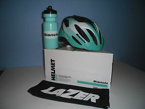 BIANCHI NEON HELMET and FREE BIANCHI BOTTLE