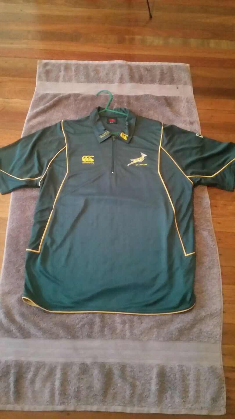 South africa rugby Canterbury shirt 2007