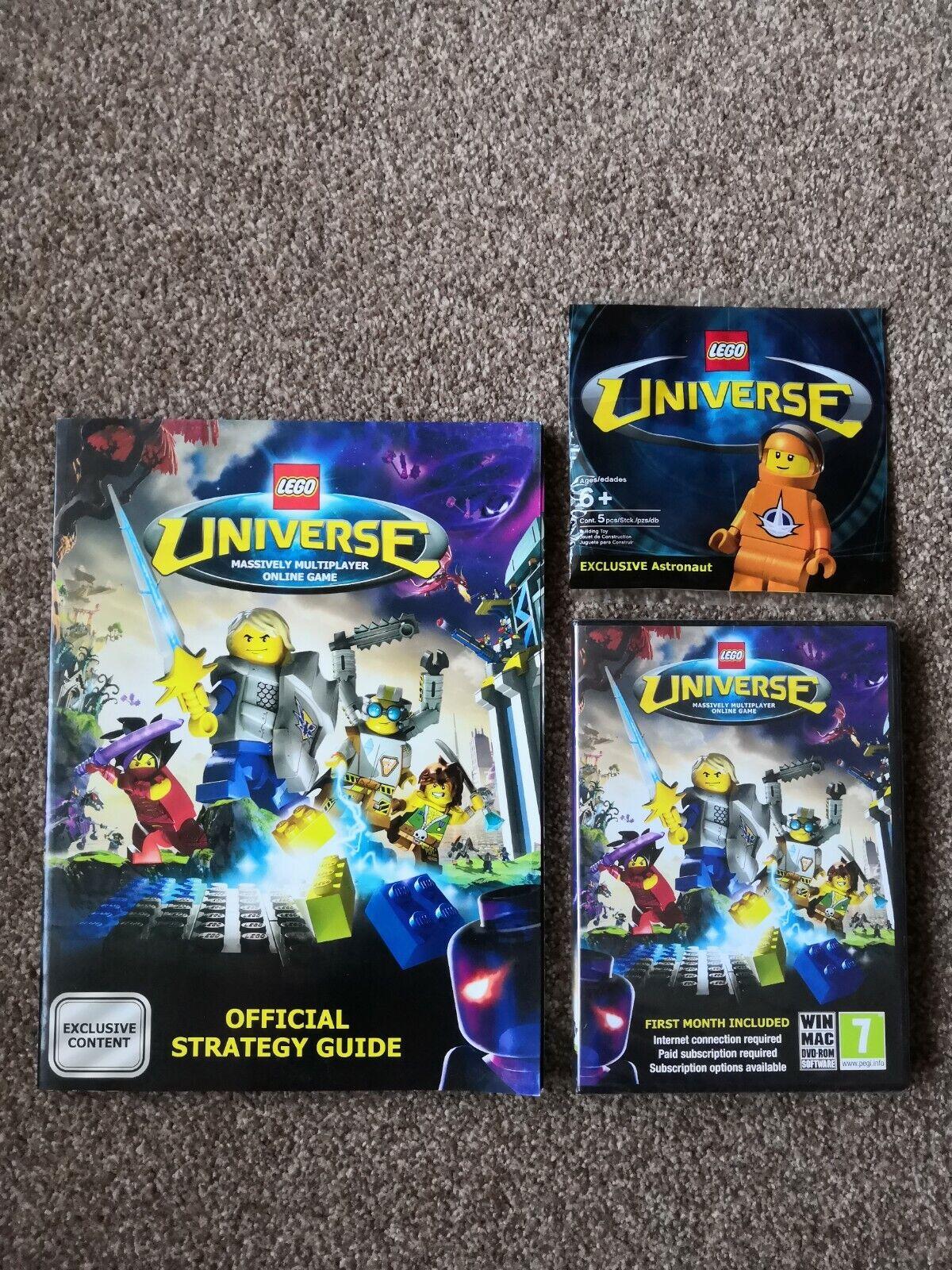 Lego Lego Lego Universe Minifigure, Guide And Pc Disc Lego History. 1504a2