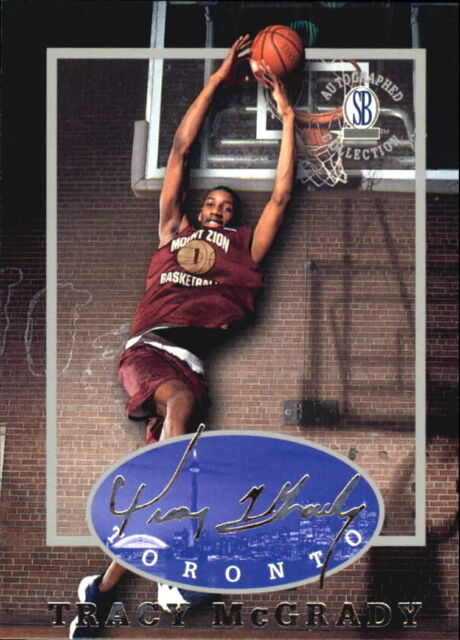 TRACY McGRADY 1997 AUTOGRAPHED COLLECTION ROOKIE CARD ...