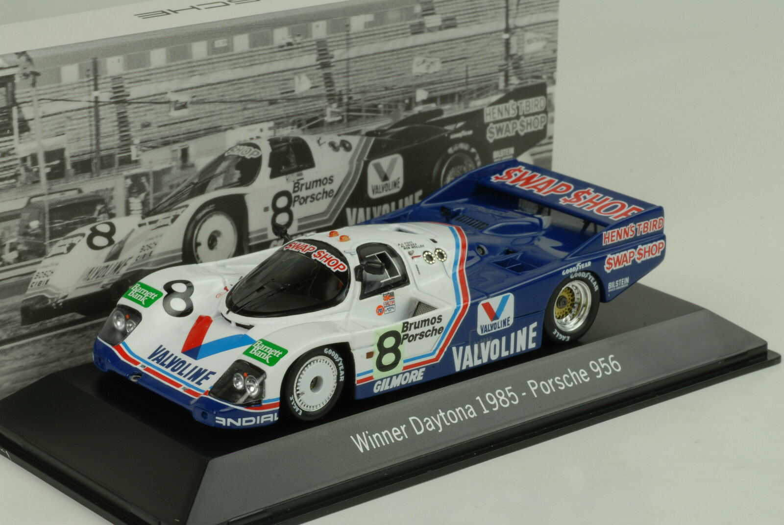 Porsche 956 Winner 24H Daytona 1985 swap shop 1 43 MAP Museum Spark