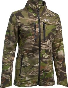 ad95cefb6cd94 UNDER ARMOUR Women UA Mid Season Bonded Wool Hunting Jacket Ridge ...