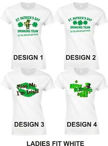96aea3f3b1e St Patrick s Day T Shirts Ladies and Unisex 17th March Drinking Team ...