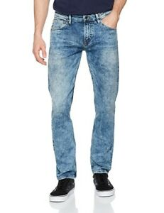 a30bbe5119416 Details about Tom Tailor Denim Men's Super Slim Piers Light Stone Skinny  Jeans 31W / 36L