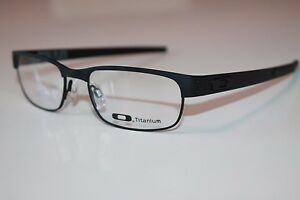 Oakley-Metal-Plate-Titanium-Eyeglasses-OX5038-0153-Matte-Black-W-Satin-Chrome