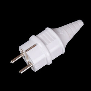 Presa-elettrica-europea-bianca-Accessori-per-prese-elettriche-16A-250V