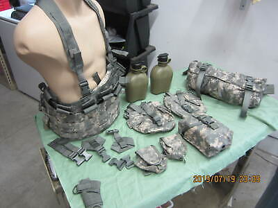 USGI Molle II TAP Tactical Assault Panel Chest Rig Canteens IFAK Fanny Pack  | eBay