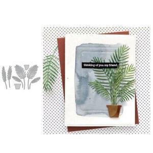 Stanzschablone-Pflanze-Bonsai-Hochzeit-Weihnachts-Oster-Geburstag-Karte-Album