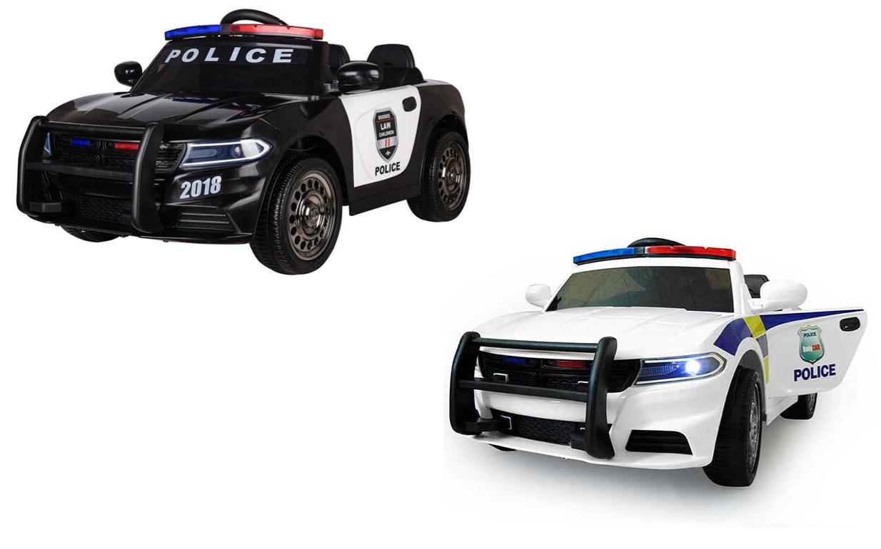 acquista online oggi AUTO ELETTRICA BAMBINO POLIZIA POLIZIA POLIZIA bambino auto AUTO polizia  JC666  a prezzi accessibili