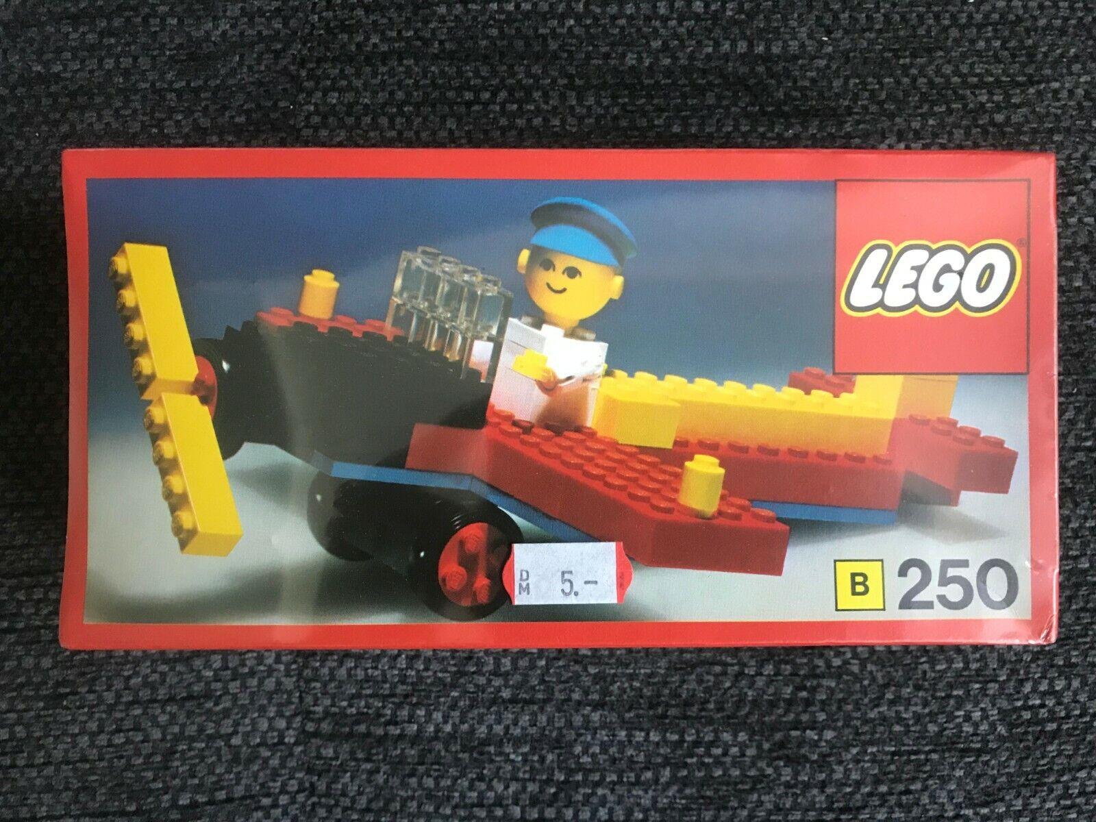 Lego Flugzeug B 250 ungeöffnet in OVP Rarität 1974 -Top Zustand-