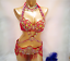NEW-B-amp-D-CUP-C1732-Belly-Dance-Costume-Outfit-Set-Bra-Belt-Carnival-Bollywood miniature 4