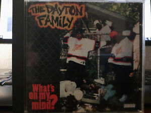 The Dayton Family What´s on my Mind?  Really Rare Rap OG Release oop G-Rap