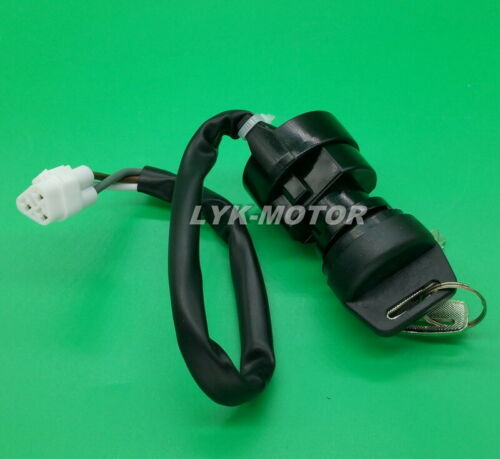 New Ignition Key Switch For Kawasaki Prairie 700 4X4 KVF700 2004 2005 2006