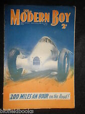 THE MODERN BOY; Pre War Comic - 15th June 1935 - Biggles/W E Johns, Mickey Mouse