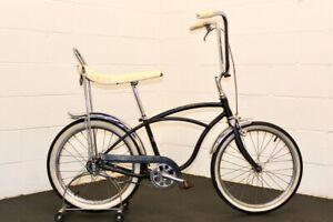 1965 Schwinn J39 Deluxe Sting-Ray Original Unrestored Black Survivor Bike