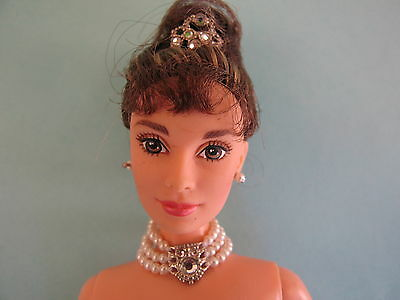 1998 Nude Barbie Breakfast At Tiffany's Audrey Hepburn Celebrity Doll