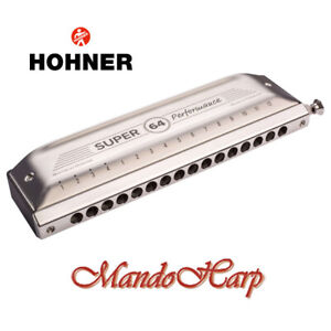 Hohner-Chromatic-Harmonica-758501-039-New-039-Super-64-16-hole-64-reed-NEW