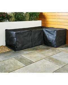 Aldi Gardenline Rattan Effect Corner Garden Sofa Cover ...