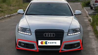 NEW AUDI A6 C6 2005-2008 S LINE FRONT BUMPER FOG LIGHT GRILL RIGHT O//S