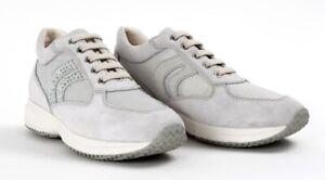 GEOX-RESPIRA-HAPPY-D5462C-scarpe-donna-sneakers-pelle-camoscio-tessuto-zeppa