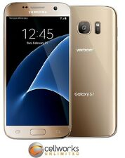 Samsung Galaxy S7 ( Verizon ) STRAIGHT TALK KIT - G930V - 32GB - Gold Platinum