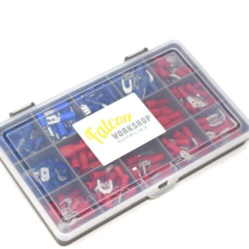 210 Terminales De Alambre con aislamiento eléctrico Surtidos crimp connectors Spade Kit