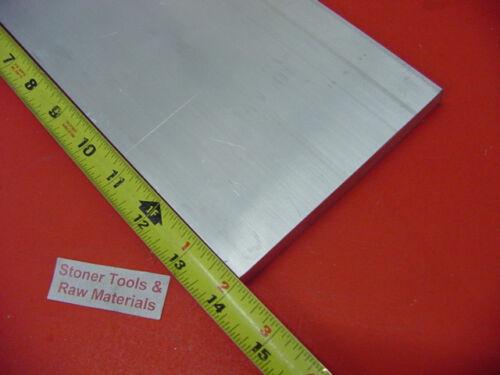"1/"" X 6/"" 6061 ALUMINUM FLAT BAR 14/"" long Solid T6511 Plate New Mill Stock"